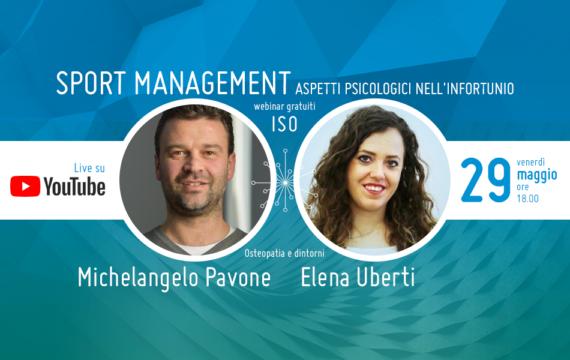Sport Management: Aspetti Psicologici nell'Infortunio · Webinar gratuito